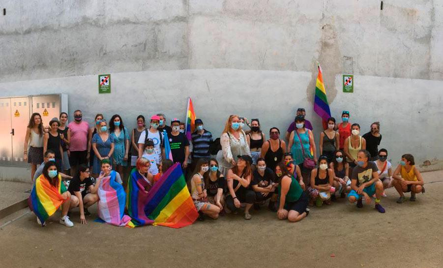 Acte 28J Dia per l'alliberament del col·lectiu LGTBIQ+